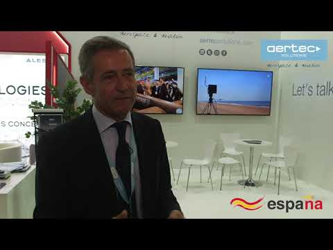 Entrevista al CEO de AERTEC Solutions en Paris Air Show