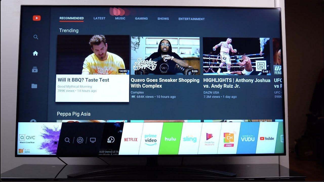 New 2019 Lg Nanocell Tv 65 4k Tv Youtube