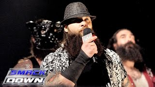 Roman Reigns Challenges Bray Wyatt To A Hell In A Cell Match: Smackdown, Oct. 1, 2015