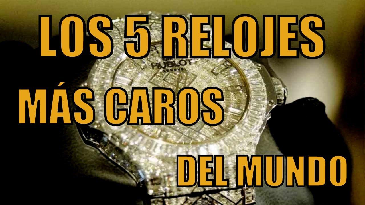68d377cb8601 LOS 5 RELOJES MÁS CAROS DEL MUNDO - YouTube