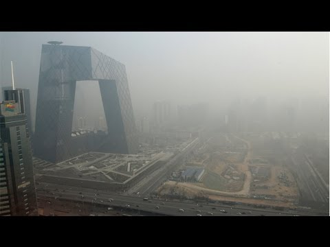 Liquid nitrogen may help to clear up Beijing's smoggy skies