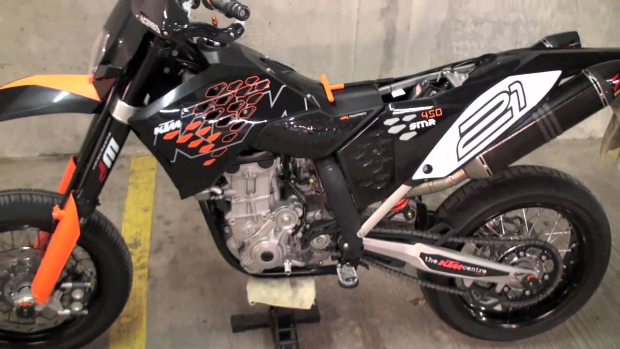 KTM 450 SMR 2009 - YouTube