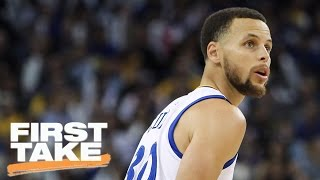 Curry Showing He Hasn't Forgotten About Finals Collapse | Final Take | First Take | April 5, 2017