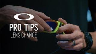 Field Jacket Lens Change | OAKLEY PRO TIPS