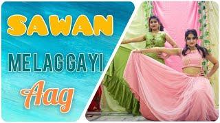Sawan mein lag gayi aag - Ginny Weds Sunny | Mika Singh | Badshah | Easy Choreography | Wedding