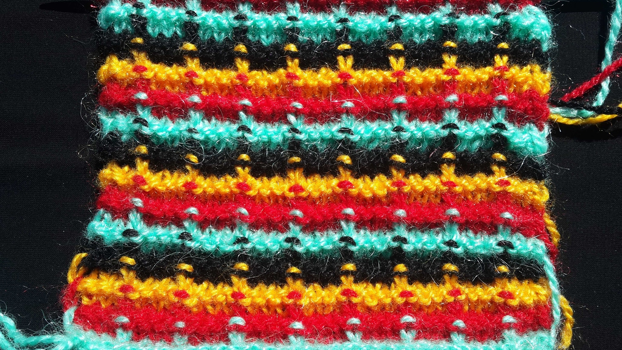 Easy Multi Colour Design for Baby Sweater and Cardigan - YouTube