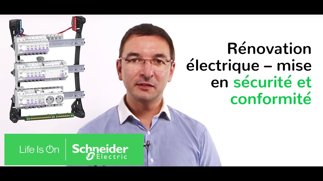 solutions de schneider electric pour la r novation lectrique youtube. Black Bedroom Furniture Sets. Home Design Ideas