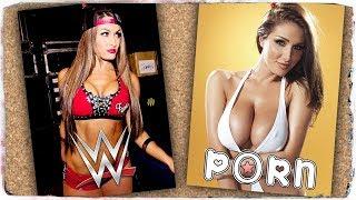 Diese WWE-Wrestlerinnen haben Porno-Doppelgänger (Deutsch/German)