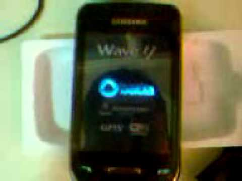 Unbox Samsung Wave Y GT-S5380B Parte 2