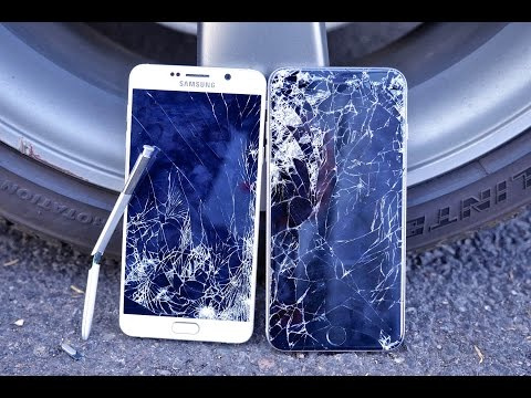 Samsung Galaxy Note 5 VS iPhone 6 Plus Drop Test!