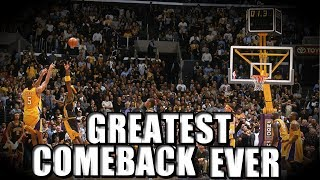 The Top 10 Greatest NBA Comebacks of All Time!