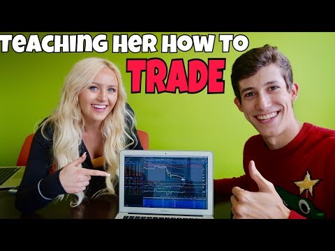 Teaching Her How To Invest In The Stock Market | Penny Stocks 101