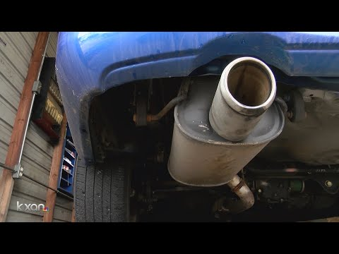 Tailpipe Tests Are Obsolete In Texas, As Wave Of Older Cars Reaches 25-years-old