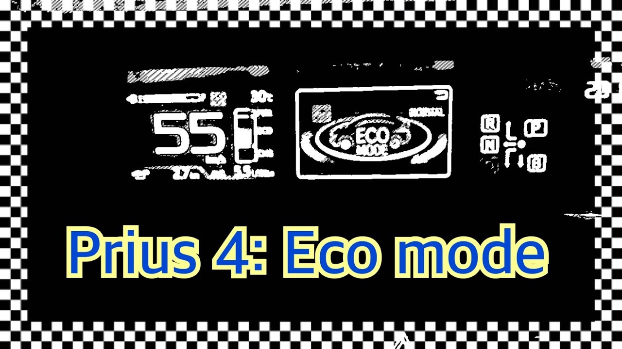 Prius4 Eco Normal Mode Long Time