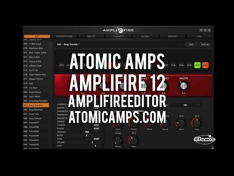 Atomic: AmpliFIRE 12 - A look at AmplifireEditor