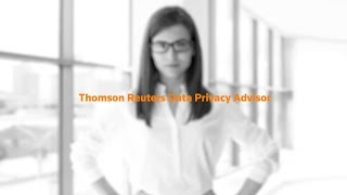 Data Privacy Advisor, new from Thomson Reuters