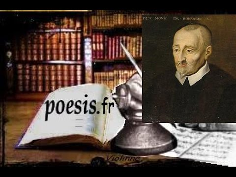 Pierre de Ronsard - Mignonne, allons voir si la rose, Livre audio
