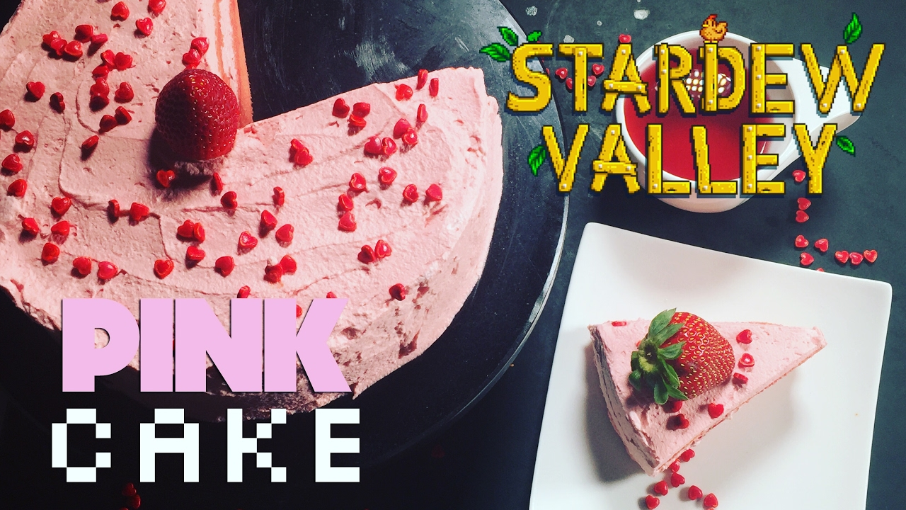 How to make stardew valley pink cake youtube forumfinder Images