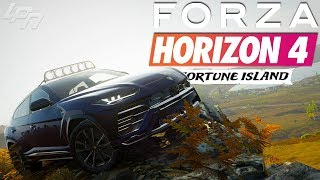 FORZA HORIZON 4 FORTUNE ISLAND Part 3 - Lambo's Offroadmonster! | Lets Play