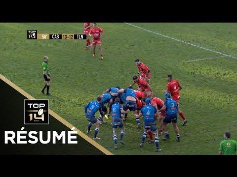 TOP 14 - Résumé Castres-Toulon: 20-19 - J11 - Saison 2017/2018