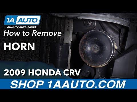 How to Replace Horn 07-11 Honda CR-V