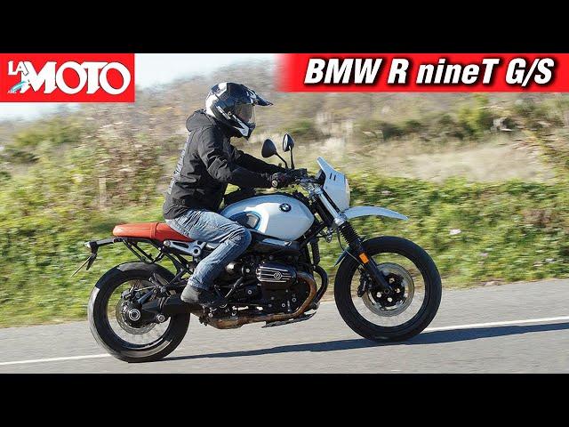 Así es: BMW R nineT Urban G/S