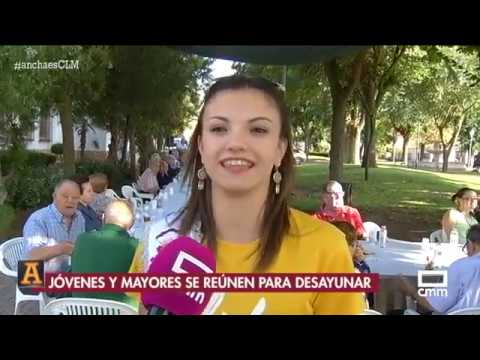 Chocolatada En Las Fiestas De San Clemente 2018 Ancha Es Clm Youtube
