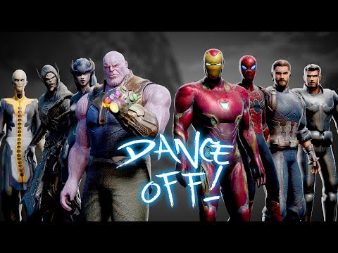 AVENGERS vs THANOS  Infinity War DANCEOFF!