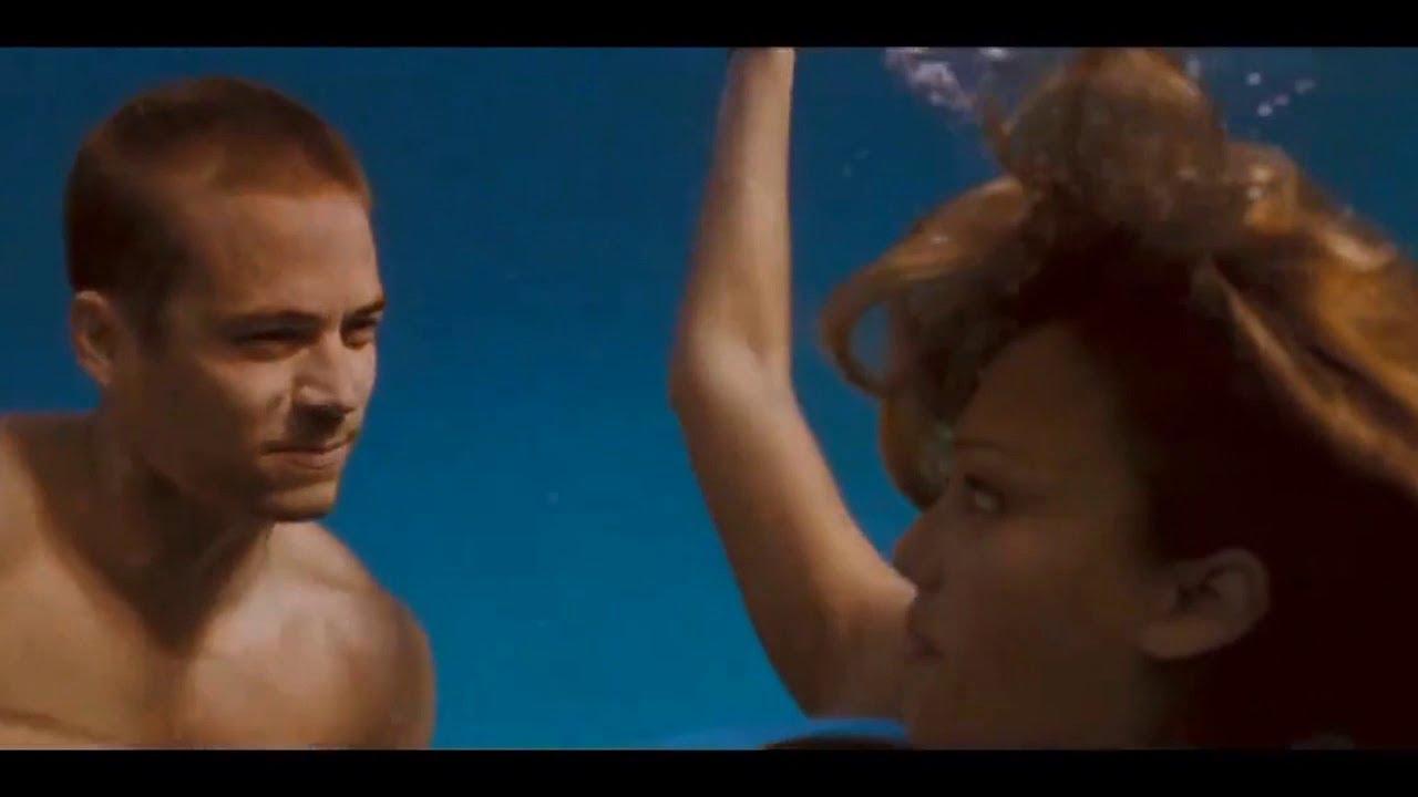 """Paul Walker & Jessica Alba: """"Into the Blue"""" (Music: Fluke ..."""