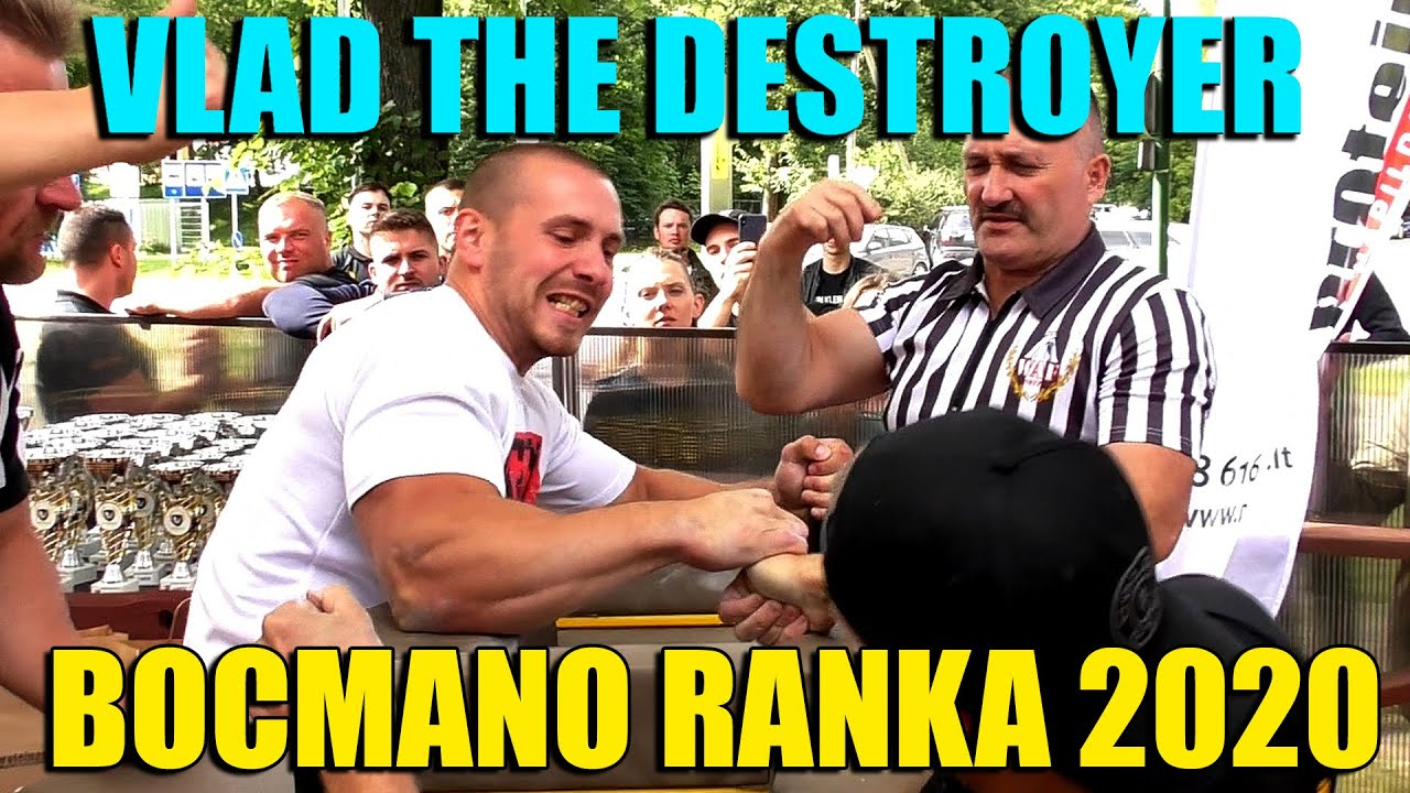 Vlad The Destroyer - Bocmano arm wrestling Championship highlights 2020