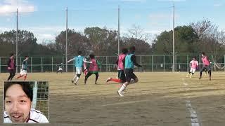 """『GHFW』JANI2018/12/09""""北大阪SCさんと合同紅白戦""""【自分でチームを作り自分でカメラを回し自分で喋る】 thumbnail"""