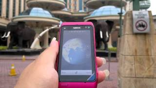 Nokia N8 Hot Pink Ovi Maps V3.06 GPS locktime (Integrated Only) Preview Day