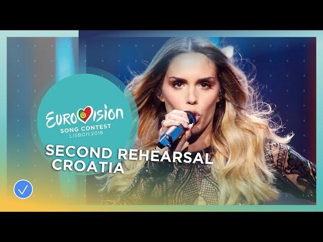 Franka - Crazy - Exclusive Rehearsal Clip - Croatia - Eurovision 2018