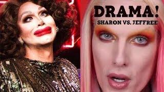 Spooky Drama! Sharon Needles On Jeffree Starr