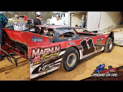 #11 Jeremy Greenway - 602 Sportsman - 3-23-19 North Alabama Speedway - In Car Camera