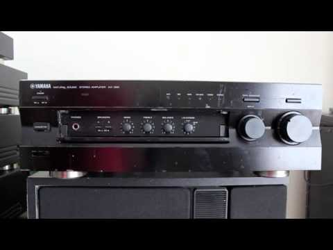 yamaha stereo amplifier ax 396 youtube. Black Bedroom Furniture Sets. Home Design Ideas