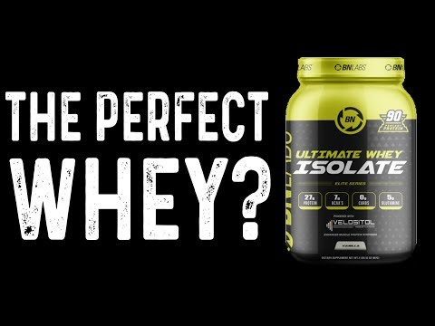 The Perfect Whey Protein? | BN Labs Ultimate Whey Isolate Review
