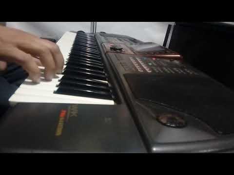 خوبروی نوازندگی . با کیبورد حرفه ای Gem wk8