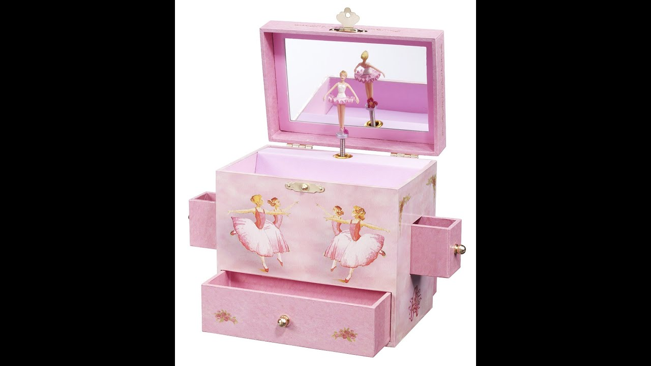 Review Ballerina Treasure Music Box YouTube