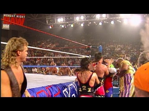 Tatanka vs. Crush: Raw - Lumberjack Match, June 6, 1994 thumbnail