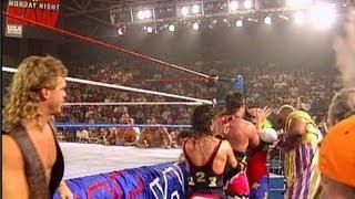 Tatanka vs. Crush: Raw - Lumberjack Match, June 6, 1994