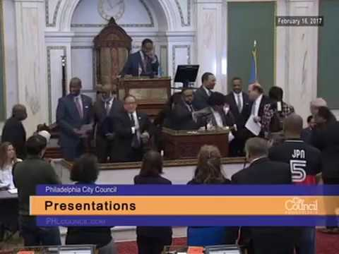 Councilman Curtis Jones, Jr. Presentation to Philadelphia Me