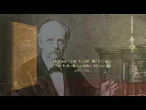 Augenspiegel von Hermann von Helmholtz (1850)