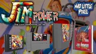 Jim Power The Lost Dimension In 3D Reborn On The NES & Improved SNES Version!