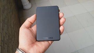 Toshiba Canvio Basic 3.0 500GB Portable HDD:Review