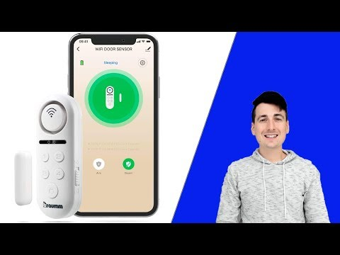 BRAUMM WiFi Smart Door Window Sensor Alarm Review Works With Alexa