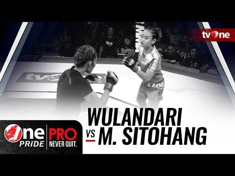 [HD] Wulandari vs Melpida Sitohang - One Pride MMA - Woman Strawweight