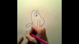 Учимся рисовать Кота Саймона.(Ссылка на мою официальную группу в ВК:https://vk.com/club116497813 Привет!Меня зовут Лиза.Мне 13 лет.Я увлекаюсь танцами,п..., 2016-01-30T17:28:37.000Z)
