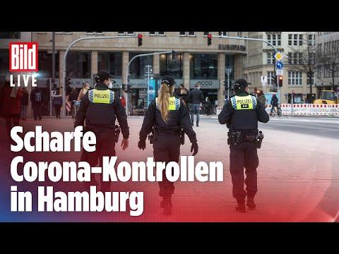 🔴 Corona-Irrsinn: Polizei in Hamburg stoppt Jogger und Spaziergänger