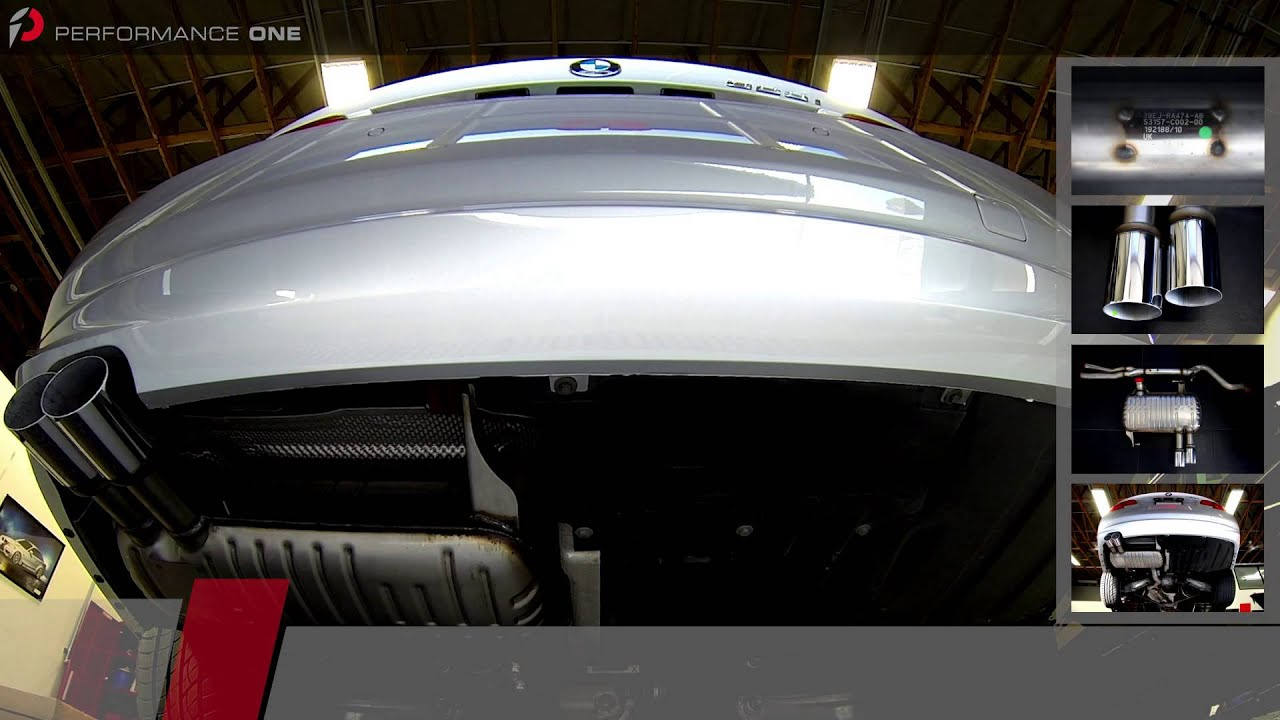 2011 Bmw E92 328i Bmw Performance Exhaust Youtube